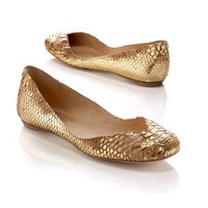 Python Ballet Flats